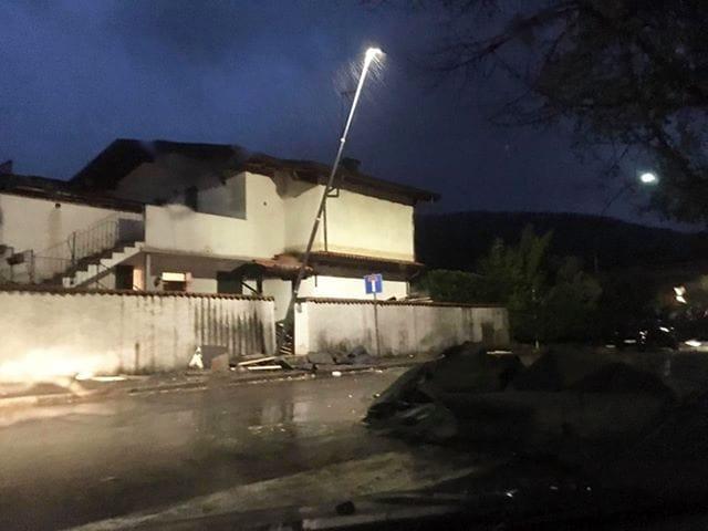 casa scoperchiata a Bovezzo-2
