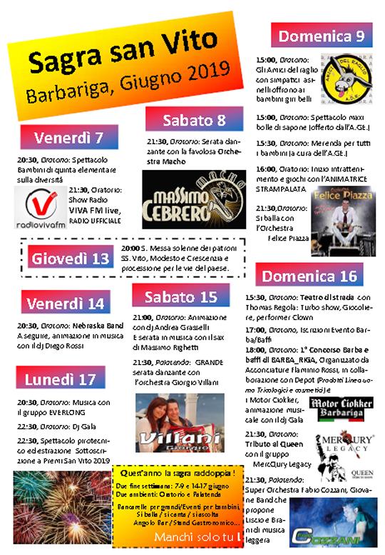 Barbariga: Sagra di San Vito