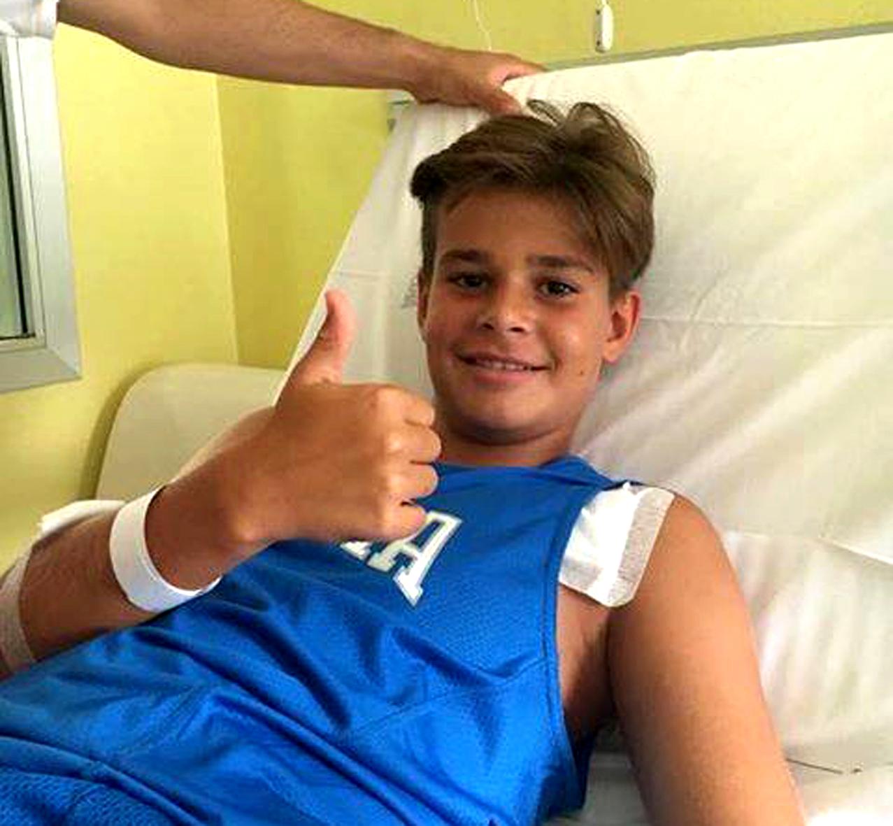 Arresto cardiaco in campo: il piccolo Paolo ha vinto la sua partita più difficile-2
