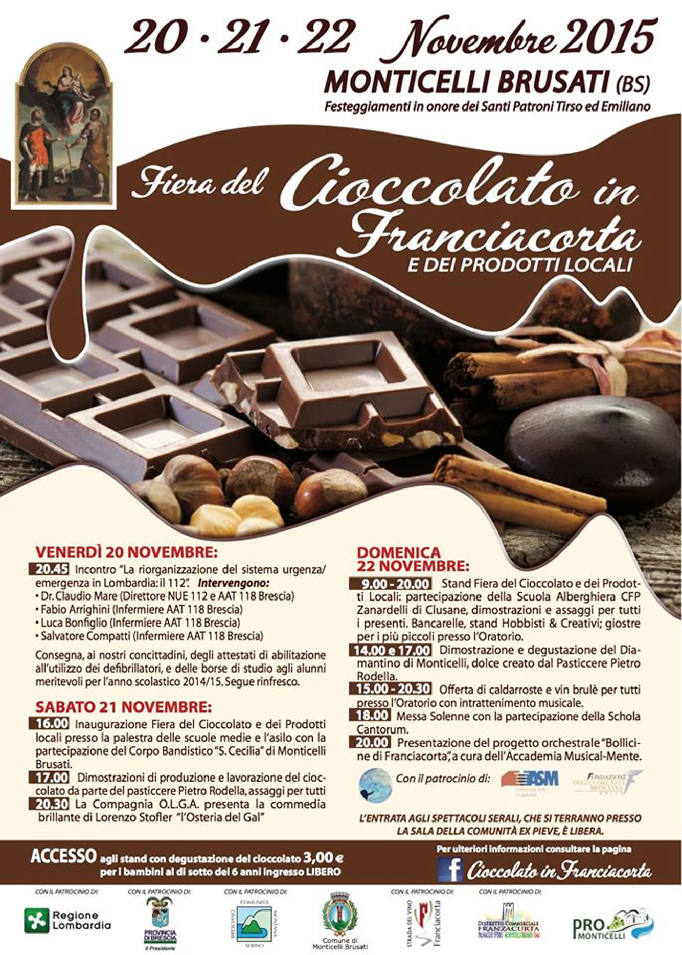 Fiera del Cioccolato in Franciacorta | novembre 2015-2
