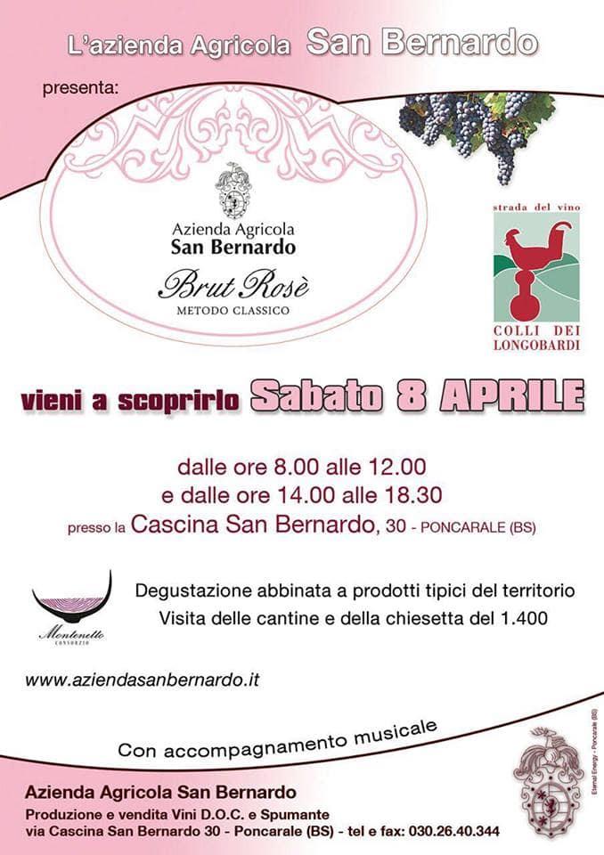 Poncarale: è nato il nuovo rosé dell'Azienda Agricola San Bernardo-2