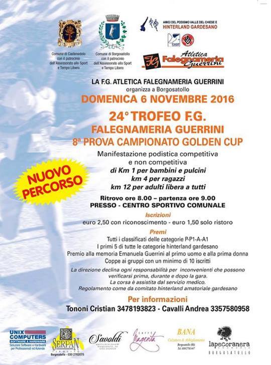 Borgosatollo: Trofeo FG | domenica 6 novembre 2016-2