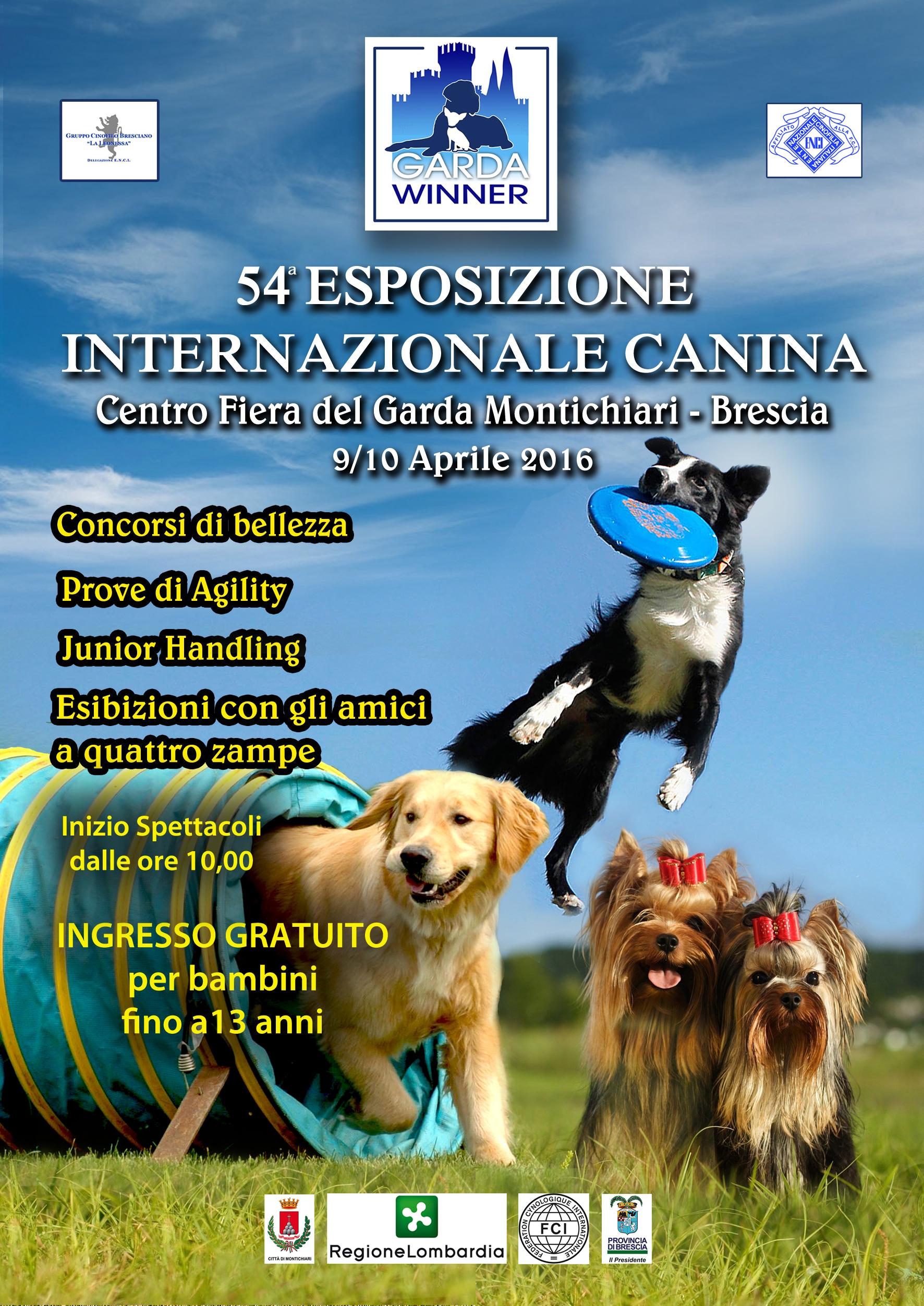 Centro Fiera Montichiari: Esposizione Internazionale Canina 2016