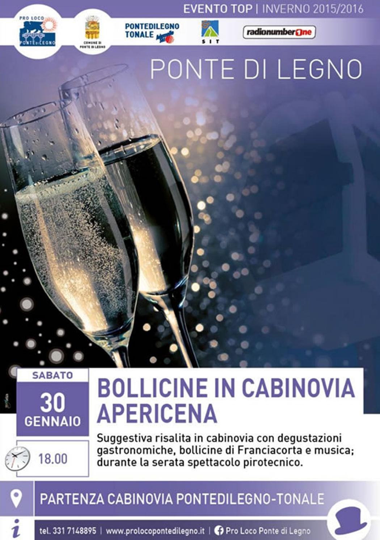 Ponte di Legno: Bollicine in Cabinovia | 30 gennaio 2016-2