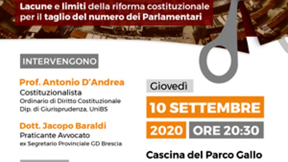 I Giovani Democratici di Brescia per il No al referendum ...