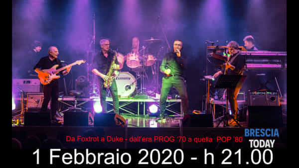Castel Mella: Genesis Tribute Band per l'ospedale Civile