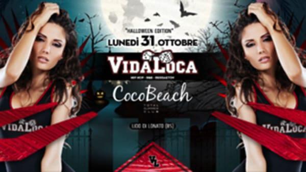 Halloween night al Coco Beach