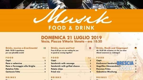 Tremosine: musik food & drink