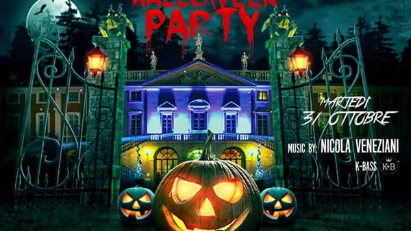 Rezzato, Villa Fenaroli: Halloween Party