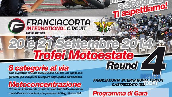 Franciacorta: round 4 dei Trofei Motoestate