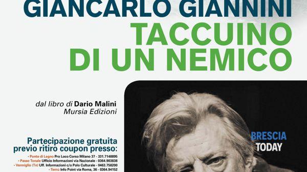 Giancarlo Giannini a Passi nella Neve