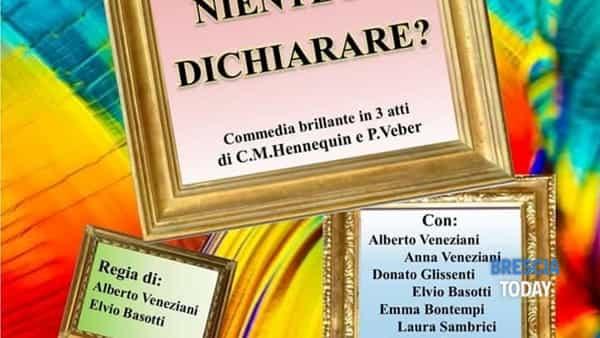 """Agnosine: """"Niente da dichiarare?"""" al Teatro Giovanni Paolo II"""