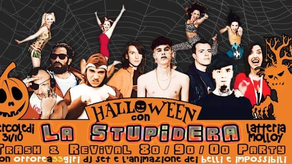 La Stupidera di Halloween alla Latteria Molloy