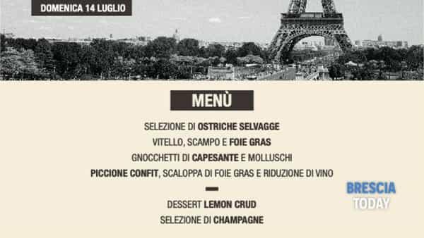 "Polpenazze: ""Vive la France"""