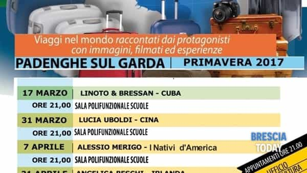 "Padenghe sul Garda: ""I venerdì del viaggiatore"""