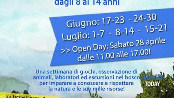 Gargnano: Campi estivi ambientali in baita Monte Prà
