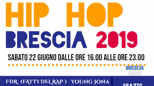 Brescia, Festa della Musica: Palco hip hop a San Polino
