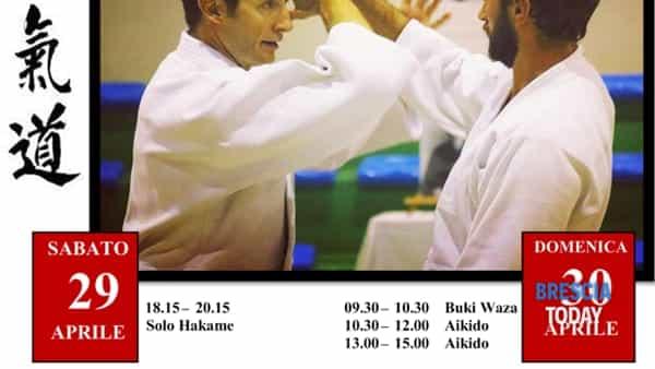 San Zeno Naviglio: stage di Aikido con sensei Pascal Guillemin