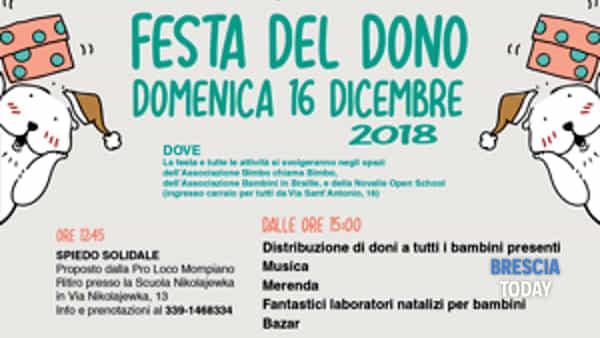 Brescia: Festa del dono