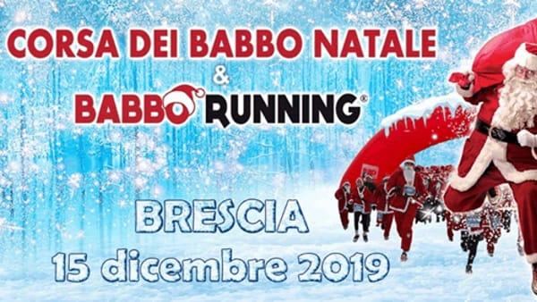 Brescia: Babbo Running