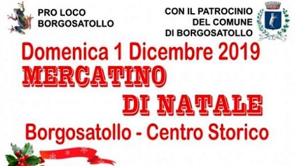 Borgosatollo: Mercatini di Natale