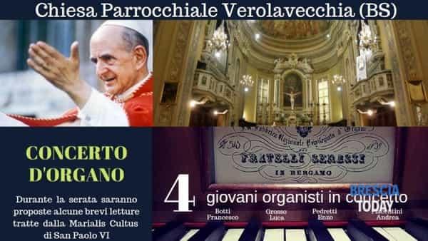 Verolavecchia: concerto d'organo
