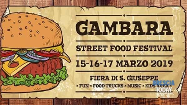 Gambara Street Food festival