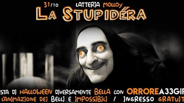 """Brescia, Latteria Molloy: """"La Stupidéra"""", Halloween con Orrore a 33 Giri"""