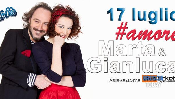 Da Sanremo (e Zelig) arrivano a Mazzano Marta&Gianluca