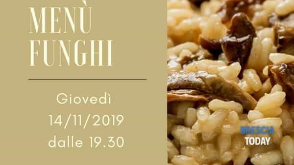 Corte Franca: Menù funghi alla Cantina Centottanta