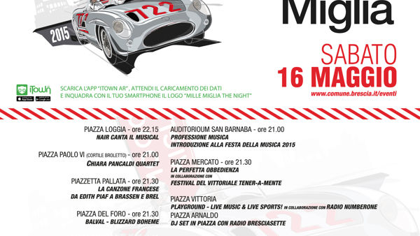 Mille Miglia: The Night 2015