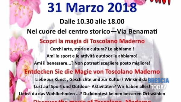"Sabato 31 marzo ""Toscolano Maderno.. che bello!"