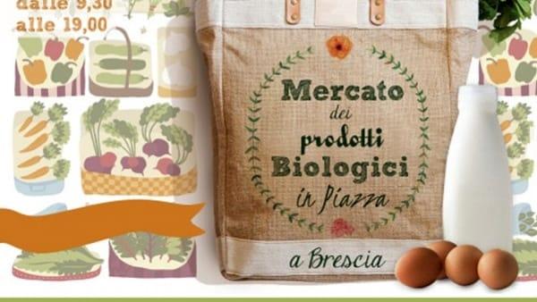 Brescia: Meglio Bio in Piazza