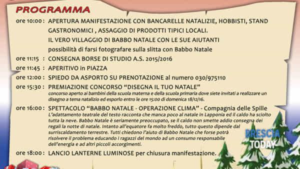 Natale 2016 in piazza Brandico