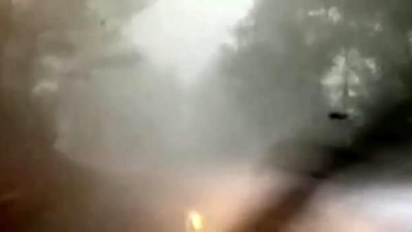 Tempesta di violenza inaudita sul Bresciano: grandine e vento oltre i 100 km/h