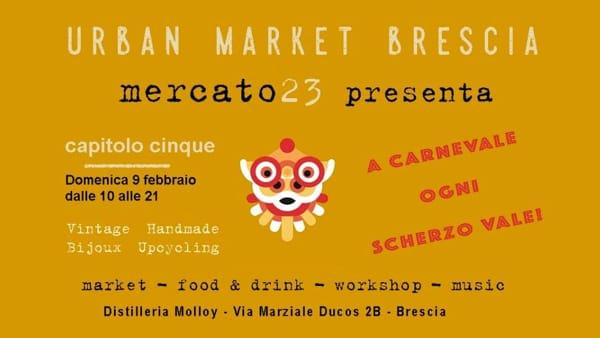 Brescia: Urban Market alla Latteria Molloy