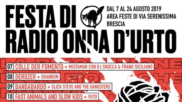 Brescia: Festa di Radio Onda d'Urto