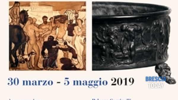 San Felice del Benaco: mostra Angelo Zanelli, nel laboratorio dello scultore