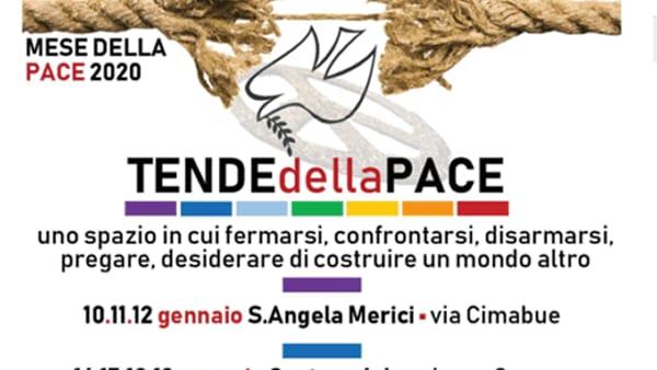 Brescia: Tende della Pace