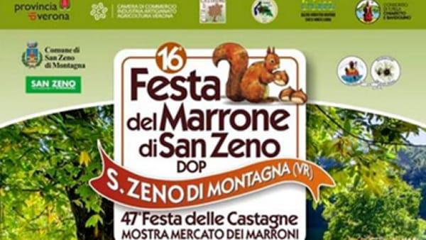 San Zeno di Montagna: Festa del Marrone