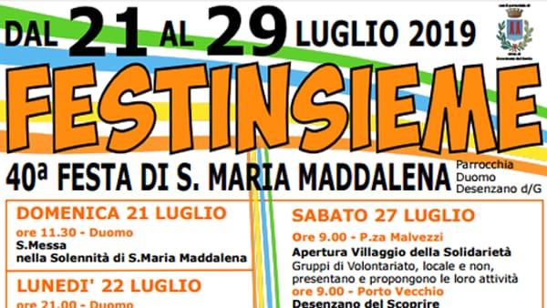 Desenzano: Festa di Santa Maria Maddalena