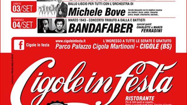CIGOLE IN FESTA, VENTIDUESIMA EDIZIONE 2016 - L'ESTATE NON È FINITA!