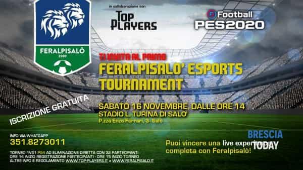 Salò: torneo Feralpisalò Esports