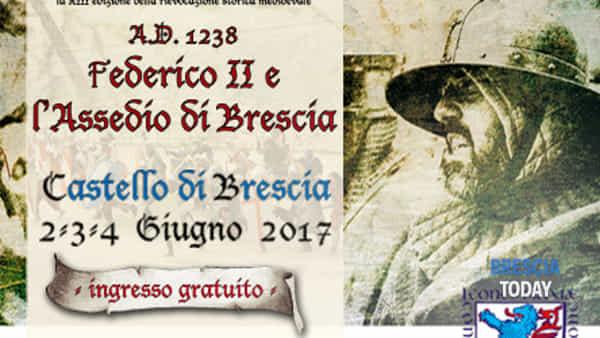 Federico II e l'assedio di Brescia: in castello la rievocazione storica