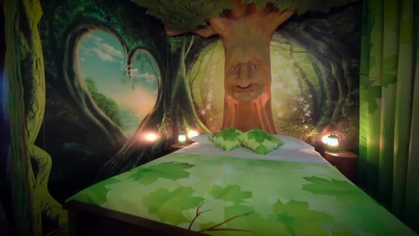 Il video in anteprima nelle stanze del Gardaland Magic Hotel