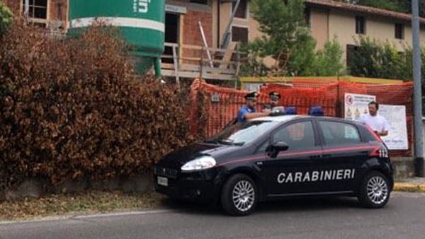 I carabinieri sul luogo dell'incidente © Bresciatoday.it