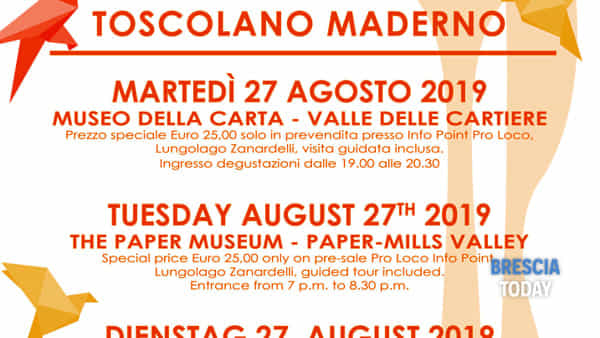 Toscolano: Taste of Culture 2019