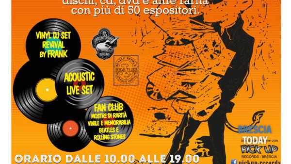 Brescia: Fiera del Disco e CD usato da collezione