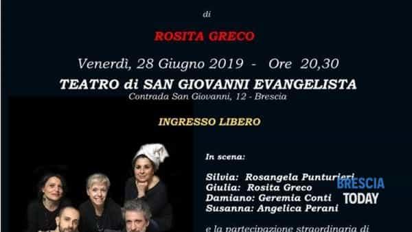 """Brescia: """"Ricetta per single"""", Compagnia teatrale Secondo Piano"""