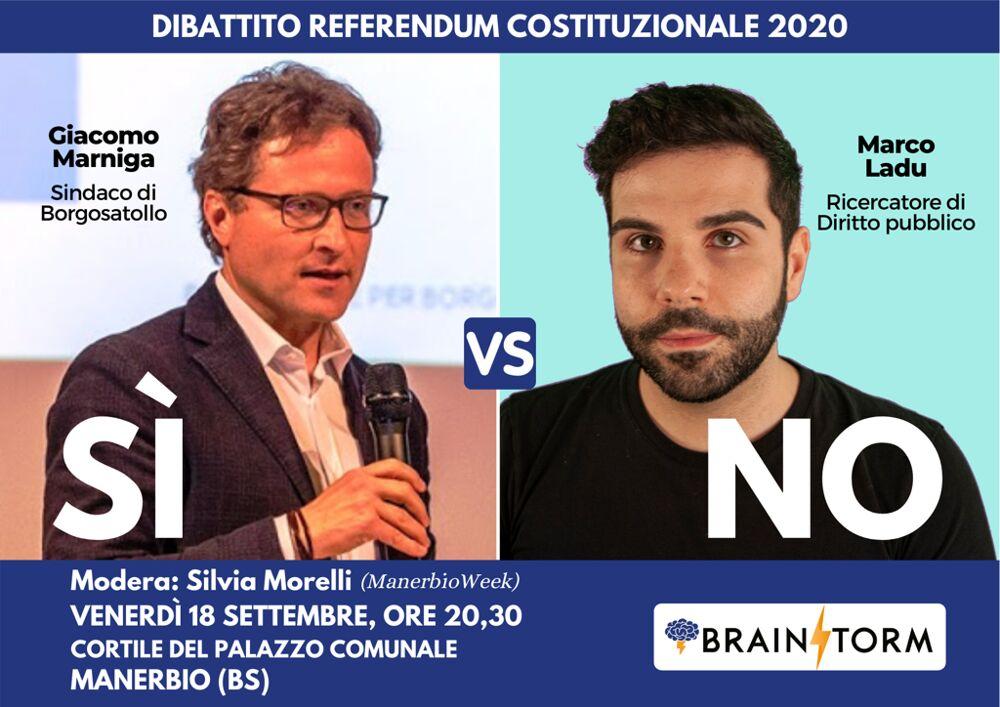 Manerbio: sì vs no, dibattito sul Referendum ...